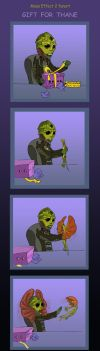 Mass Effect 2, Gift for Thane by Agregor