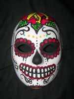 Day Of The Dead Mask by Metalreaper101