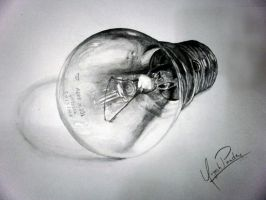 Light bulb by YugeshPandey