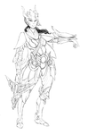 (2013-11-18) Quinn Redesign - WIP by PronouncedKnee