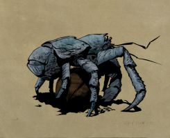 Dry Brush Crab by AgentBiLL