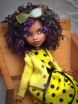 All Clad in Yellow Clawdeen by mary-vassilieva
