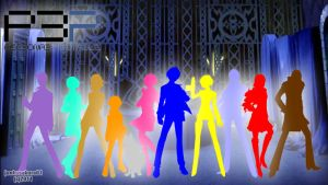 P3 Colored Silhouette cast by junkosakura01