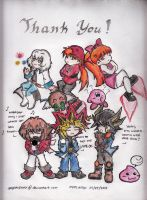 100 and 3K+...(To All Of You...) by YuGiOh4Ever