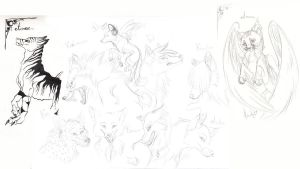 Free sketchs by hecatehell