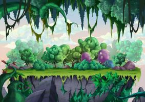Game Background design by munlyne