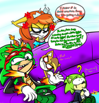 Scourge's Dad Jokes for 5courgesbestbuddy by ProjectYOSHIKrueger