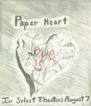 Paper Heart Contest by nozomigirl