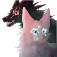 Off-White~ Skoll and Hati by Wolved