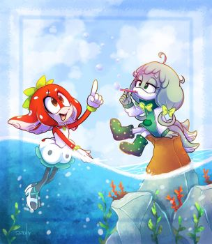 Under The Sea Sorta by vaporotem