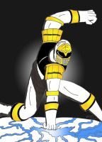 WHITE RANGER TOMMY by JohnnyFive81