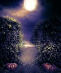 Premade BG Halloween II by StarsColdNight