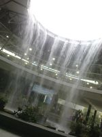 Rain Fountain of Information. by Paiseh
