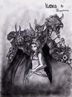 Hades And Persephone by DaRkScArEcRoWs