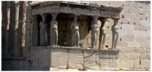 Acropolis 03 The Caryatids by Kevrekidis