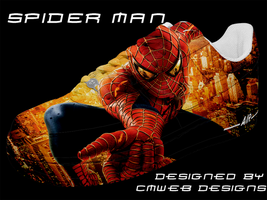 NEW: Spider-Man Shoe Design by CMWebStudios