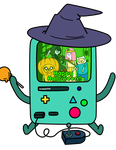 BMO's Spooky Holloween Party! [Animated!!] by kaori2791