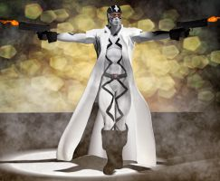 Fantomex 2nd skin textures for M4 by hiram67