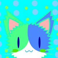CatIcon:Blue kitty by ModernLisart