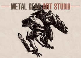 Metal Gear Art Studio - Raptor 1 by SolidAlexei