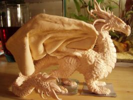 Sculpey dragon 2 by ravenoo