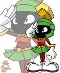 Marvin The Martian by TheOctoberScarf