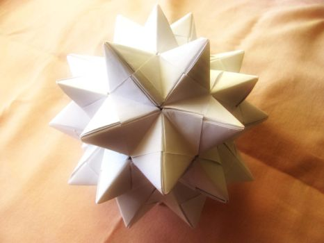 Pentakis Dodecahedron by mystichuntress