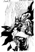 Batman Arkham auction by Chuckdee