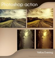 Yellow Evening Action - FREE by aoao2