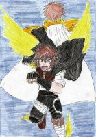 On my own wings I'll fly out of my brother's shado by Aioros-sama