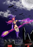 Haures Witch by Xiraus