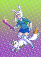 Fionna and Cake by taconaco