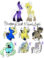 Breeded  Pony Adoptables Batch 8 [ closed ] by cutiiebutt-creations