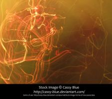 Yellow/Peach Electricity Texture Stock by Cassy-Blue