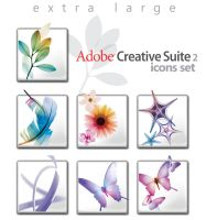 Adobe CS 2.0 Grande Icon Set by wstaylor