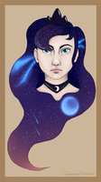 Cosmic blue by Dunnowhattowrite