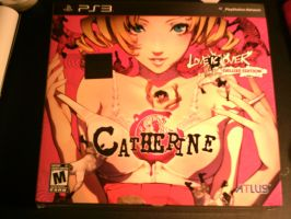 got my Catherine game today by Dark-Blue-Abaddon