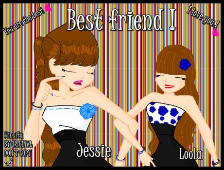 Jessie and Mee x3 by winxita