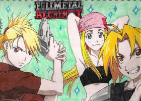The blondes of FMA by Smithy9