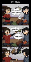Oh Thor by ProxyComics