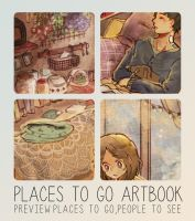 Preview:Places to go Artbook by naoyatoudo