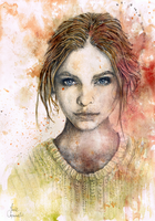 Watercolour I [portrait] by IceRider098