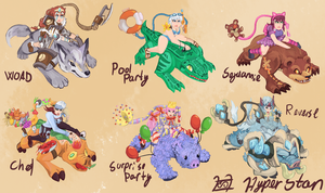 Sejuani skins that will never happen by Hyper-Stan