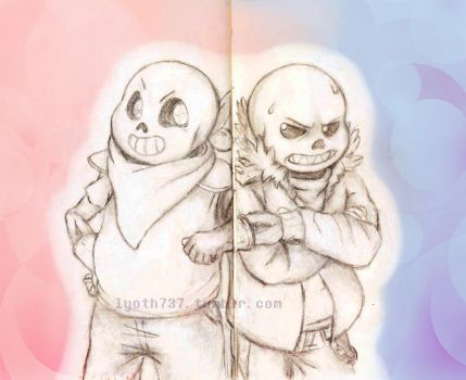 Undertale - Look on the bright side! by lyoth737