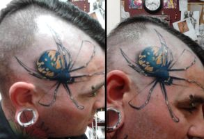 Tattoo - M12 - Spider II by BooBelle