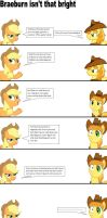 Braeburn isn't that bright by batman0889