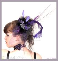 DMD hair fascinators by Duskmoth