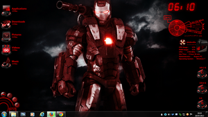 Iron Man Rogers1967 Rainmeter by Rogers1967