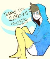 2000+ tumblr followers by loonytwin