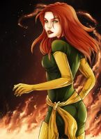 Jean Grey by ladyarrowsmith